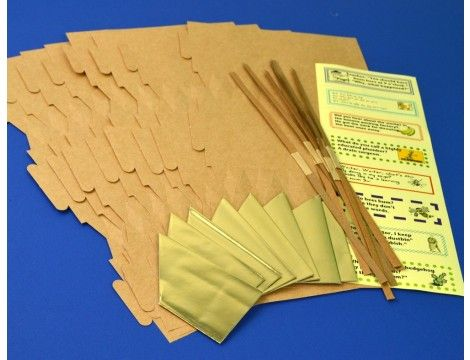 Natural brown recycled kraft style crackers for fill your own 8 full sized kraft style cracker boards for fill your own crackers making craft projects make your own diy cracker crafts for every occasion not just for solutioingenieria Choice Image