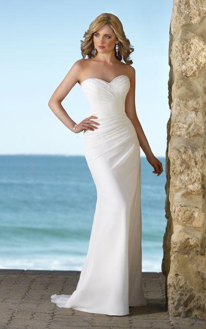 Lace A-Line Illusion Neckline Wedding Dress | Stella york, Wedding ...