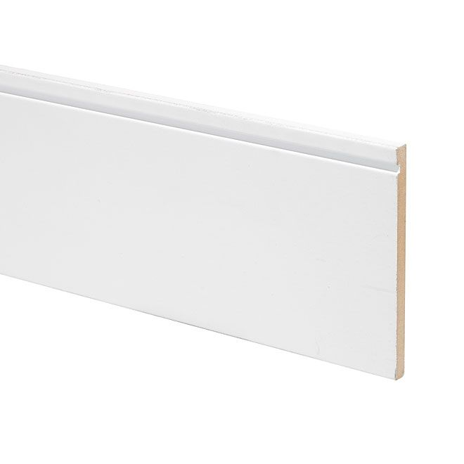 Mdf Contemporary Baseboard Rona 10 97 8 1 2 X6 5 Baseboards Baseboard Trim Contemporary