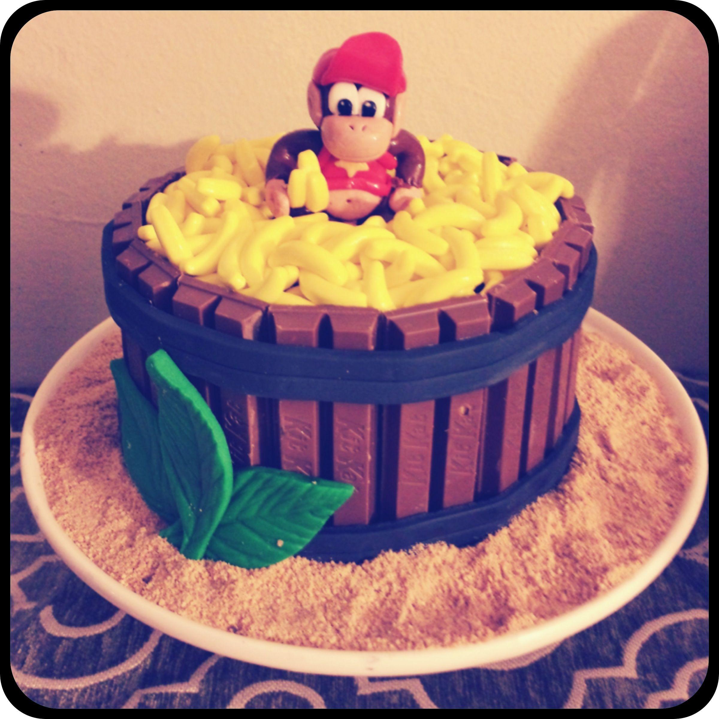 Diddy Kong Cake Donkey Kong Donkey kong party, Video