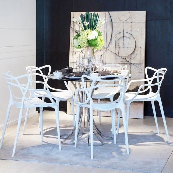 Arm Chair Dining Room New This One Is Out Of White Color But Photo Shows How They Would Design Decoration