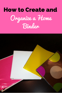 how to create and organize a home binder the best of the journey