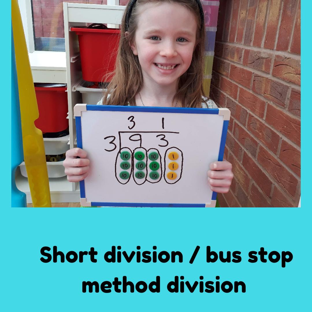 Bus Stop Method Division Free Worksheet