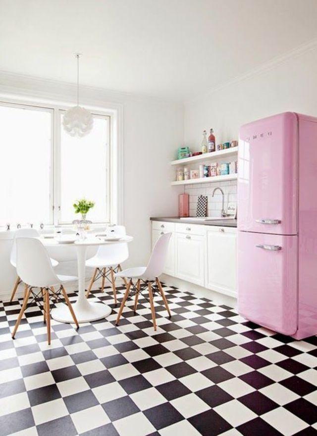 Deco cuisine : mettre de la couleur dans sa cuisine | Damier ...