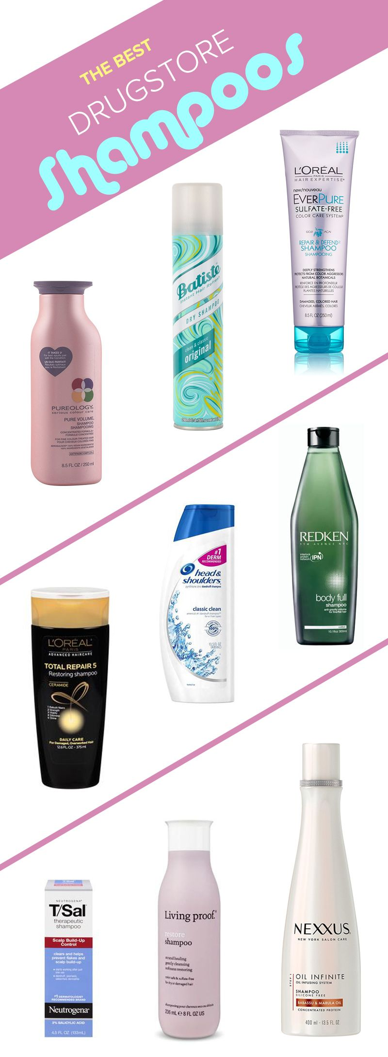 15 Drugstore Shampoos Celebrity Hairstylists Cant Live Without