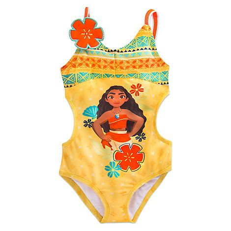 1fa3df5d90309 Moana Swimsuit for Girls | 3rd Birthday Party! | Moana swimsuit ...