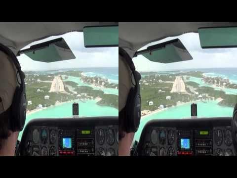 3D HD Cessna Bahamas Landing Staniel Cay with strong winds - http://www.nopasc.org/3d-hd-cessna-bahamas-landing-staniel-cay-with-strong-winds/