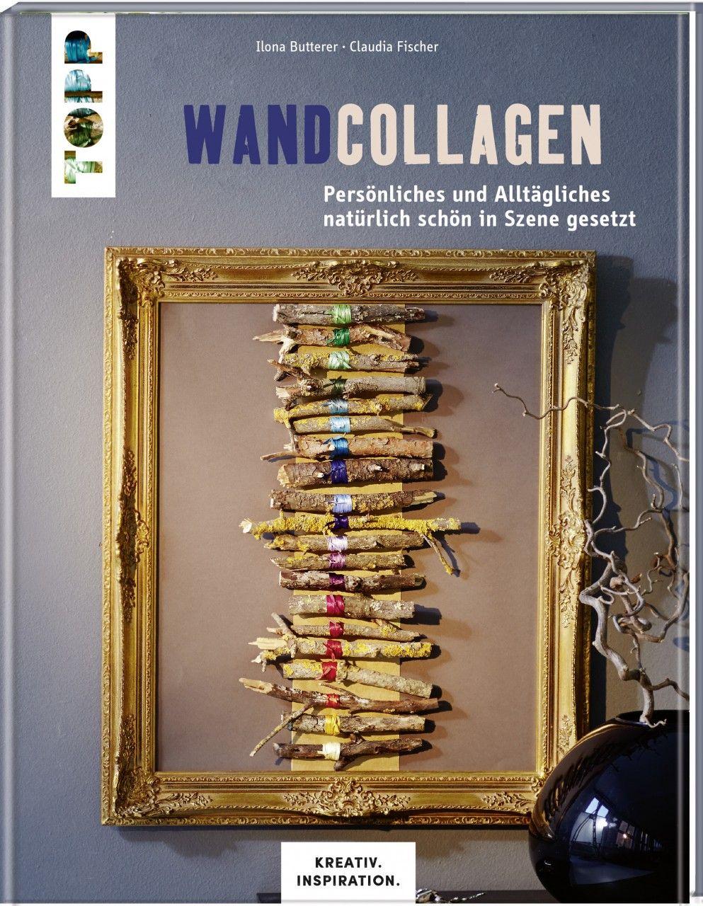 Originelle Collagen Aus Naturmaterial Für Wand Und Fenster Holen Sie Sich  Die Natur Ins Haus!