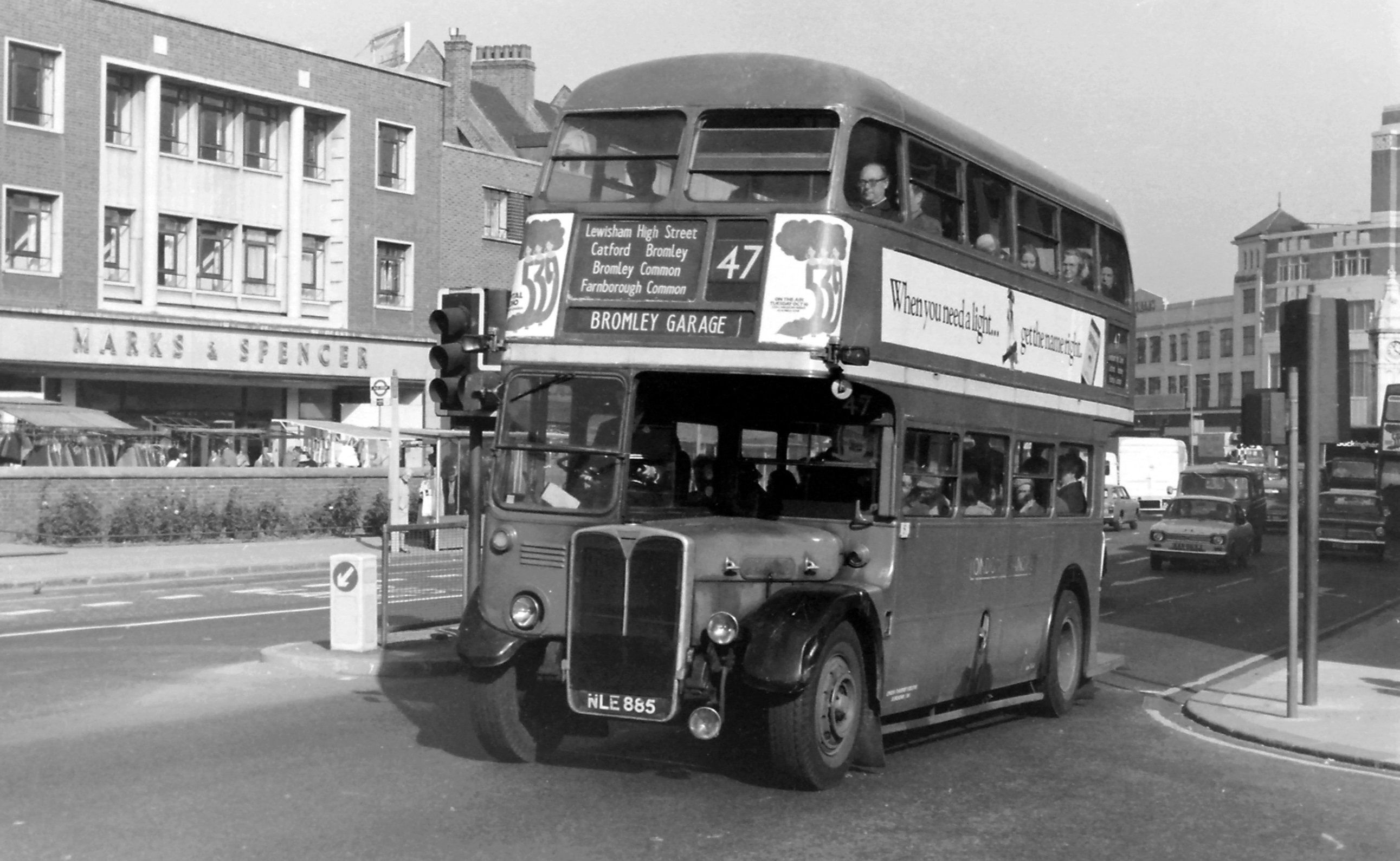 Rt On Route 47 In Lewisham High Street London Bus