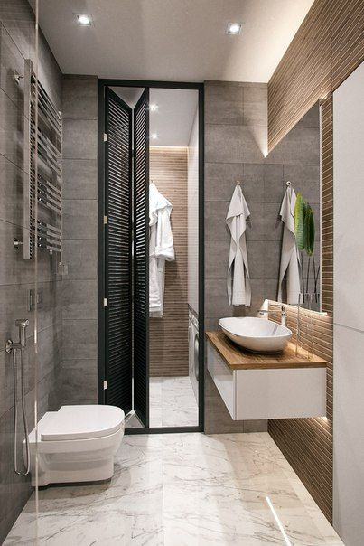 ДИЗАЙН СТУДИЯ А+Б Bathroom Pinterest Interiors, Toilet and - einrichten mit grau holz alexandra fedorova