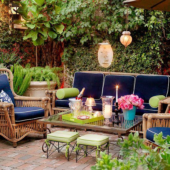 24 Patio Perk-Ups | Patios, Terrazas y Jardín