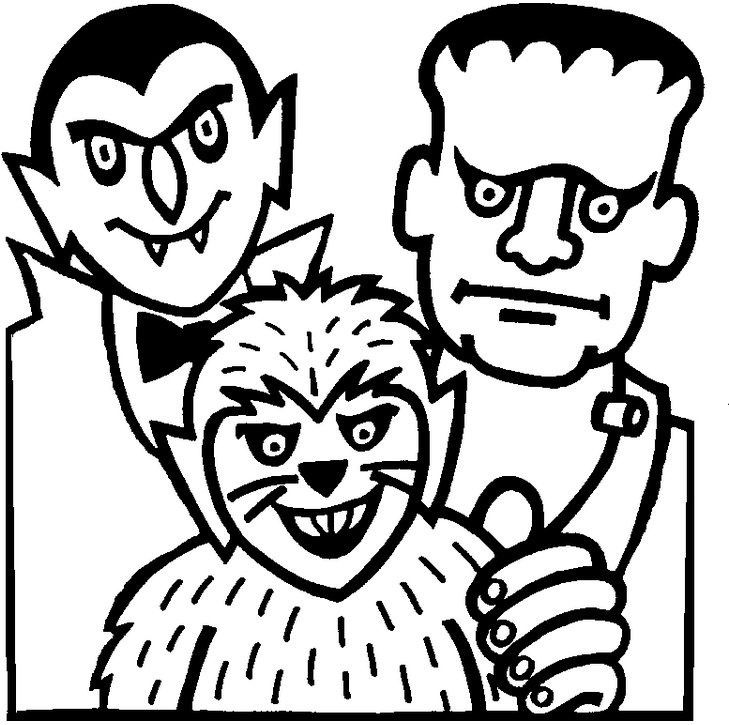 Halloween Coloring Pages | Halloween coloring, Frozen coloring and ...