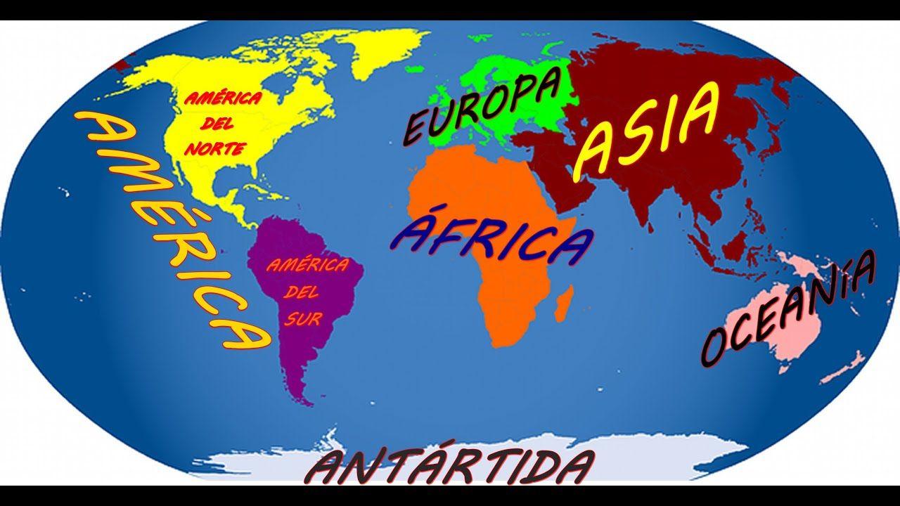 Los Continentes Y Oceanos Que Es Un Continente Y Cuales Son Continentes Y Oceanos Los Continentes Del Mundo Continentes
