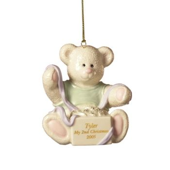 Lenox Personalized My Little Ones Second Christmas Ornament