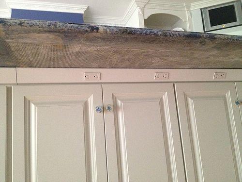 Plug Mold Strips Under Island · Kitchen OrganizersKitchen StorageElectrical  OutletsKitchen CabinetsKitchen ...