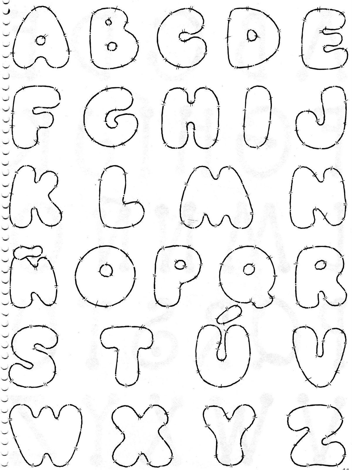 Molde De Letras Para Imprimir Te Amo Graffiti | Curiosidades