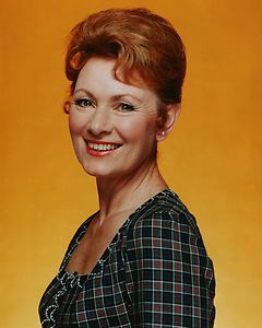 Marion Ross - or the mom from Happy Days. She was in the same ...