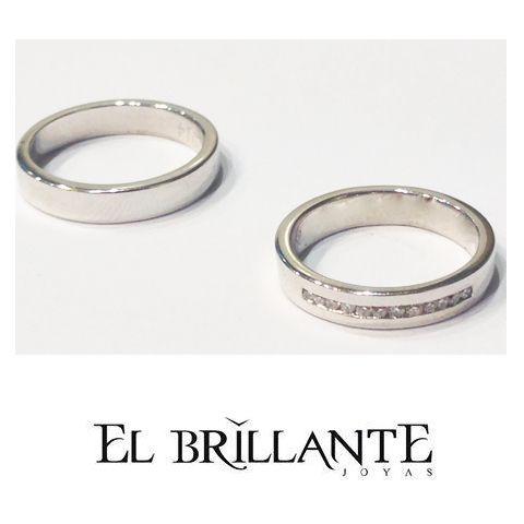 067c6db514a3 Pin de El Brillante Joyas en Argollas de matrimonio