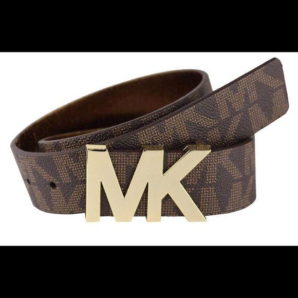 MICHAEL KORS BELT NEW! Authentic MK Belt size Small MICHAEL