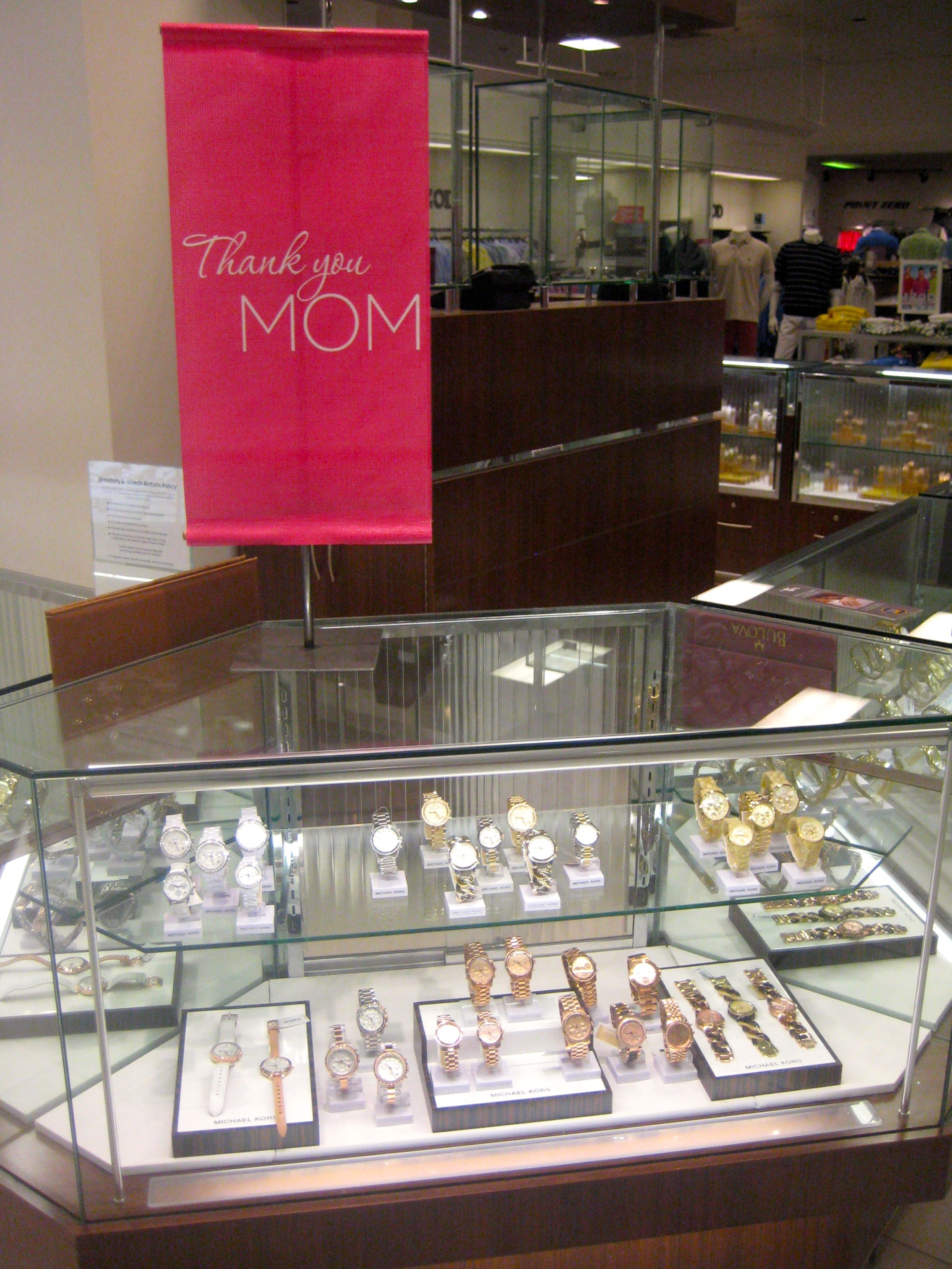 Designer watches are a classic elegant mothers day gift