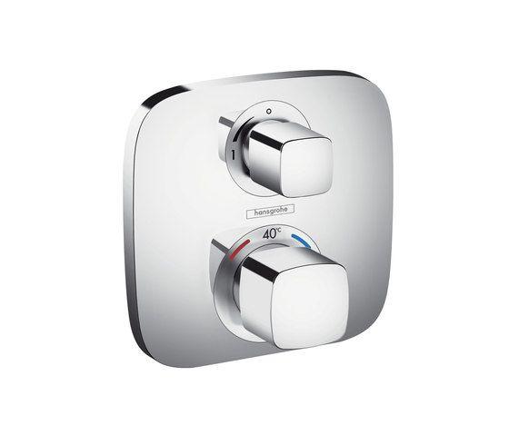 Hansgrohe Ecostat Set de finition pour mitigeur thermostatique E