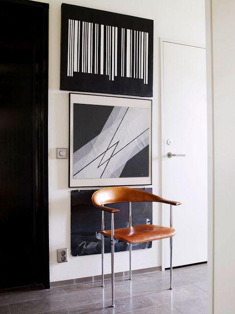 La Maison D Anna G Art Contemporain Du Sol Au Plafond House Interior Interior Styling Home