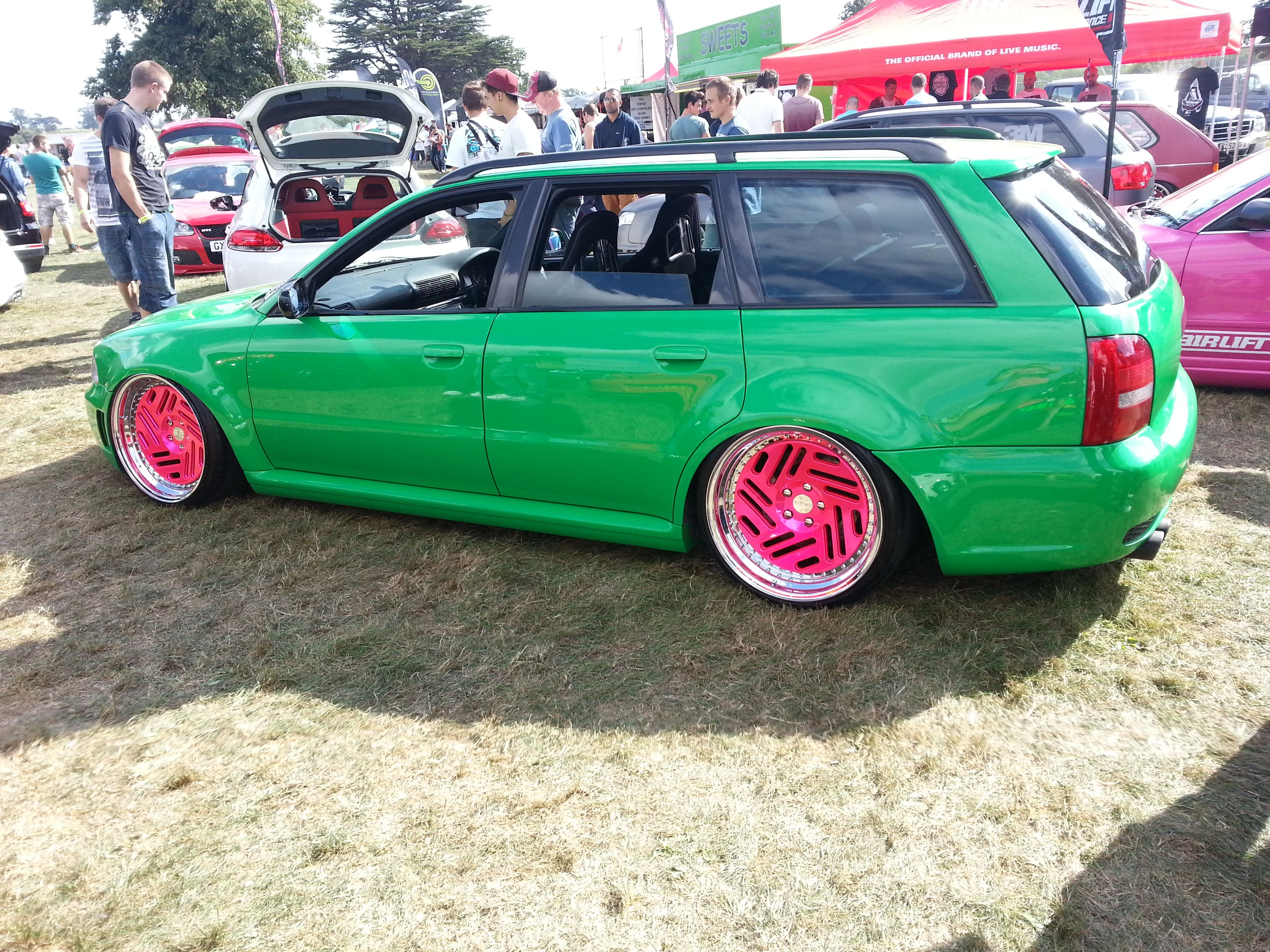 Edition 38 i went to! loved it check out these wheels, not sure on the green though!!
