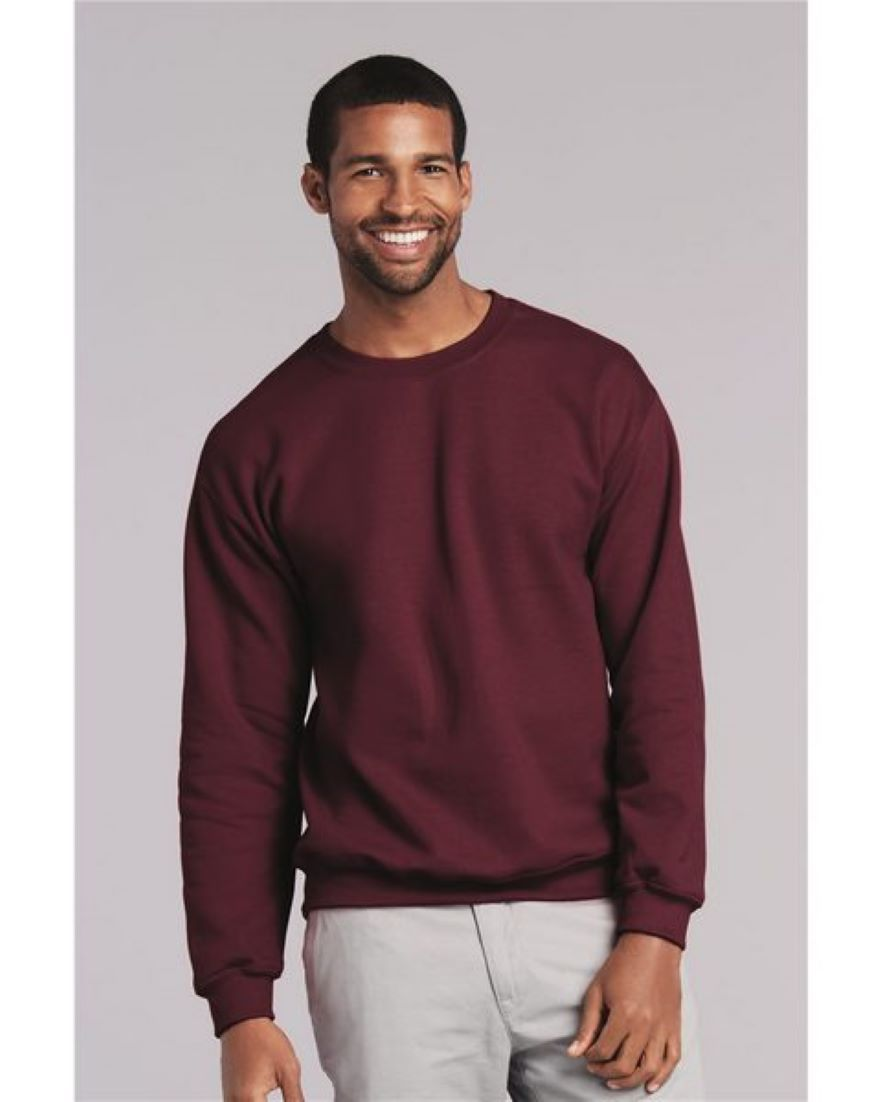 G180 Gildan Sweatshirt 8000 Crewneck Gildan Sweatshirts Long Sleeve Tshirt Men Crew Neck Sweatshirt [ 1102 x 882 Pixel ]