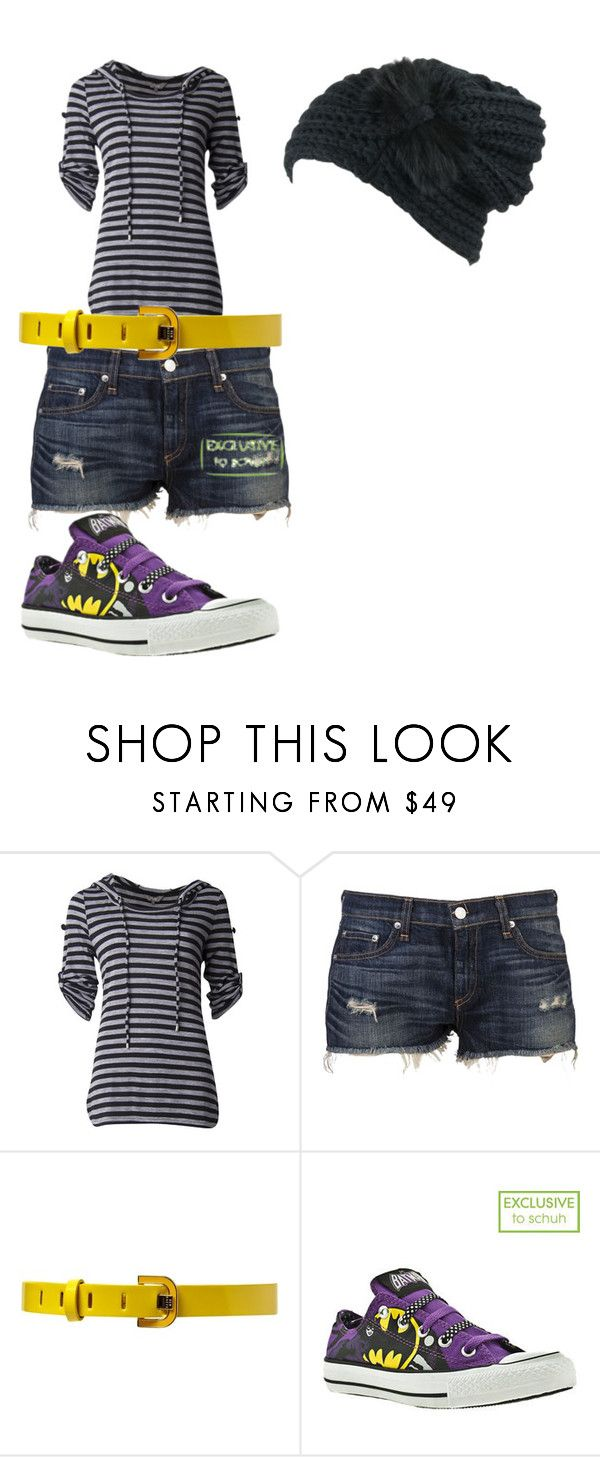 """lost."" by blackcatinthehat ❤ liked on Polyvore featuring rag & bone, Ted Baker and Converse"