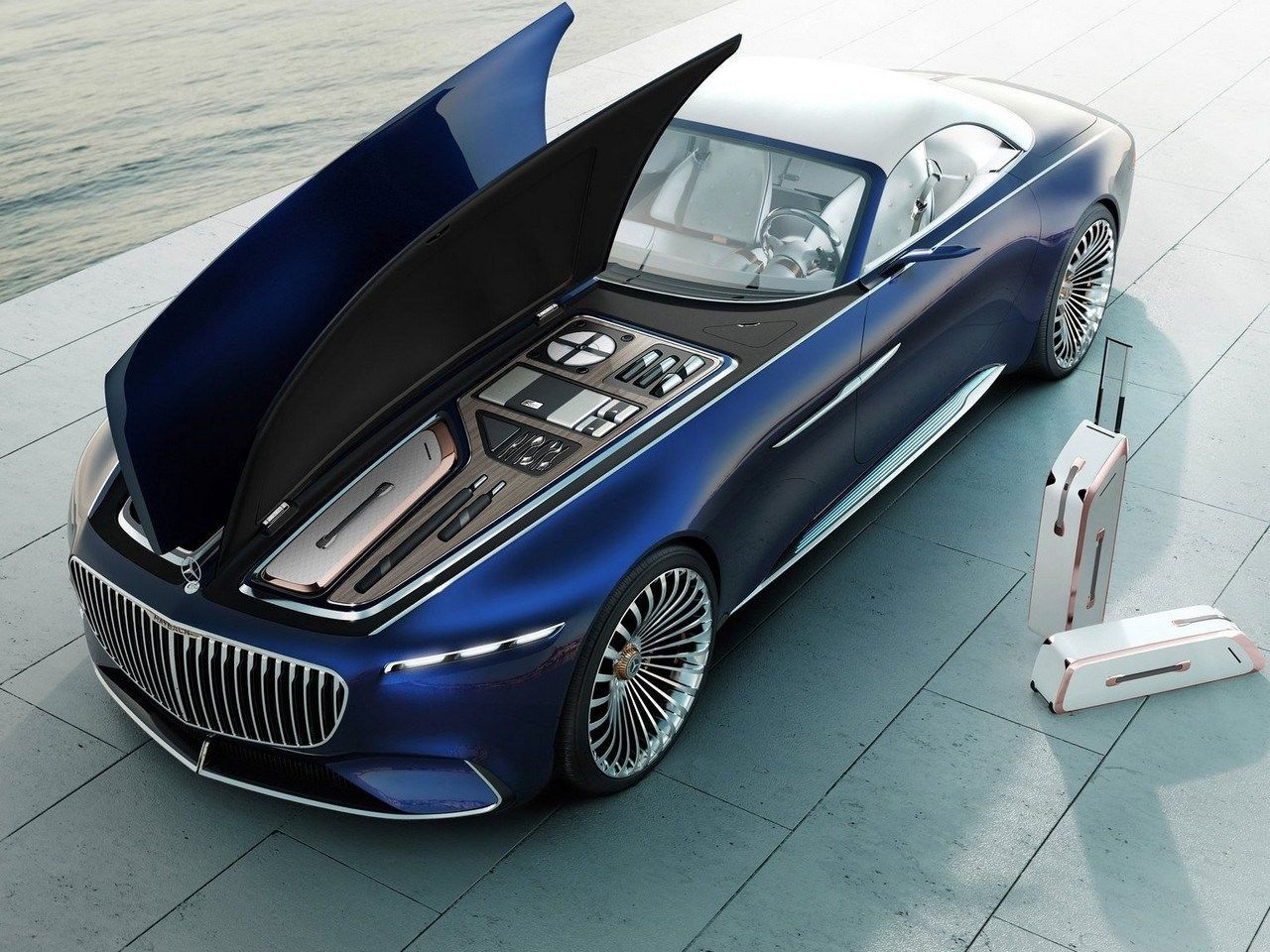 Vision Mercedes Maybach 6 Cabriolet 100 Electric And 750