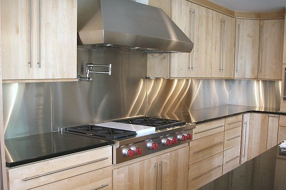 Transform Your Kitchen With A Stainless Steel Backsplash Kitchen
