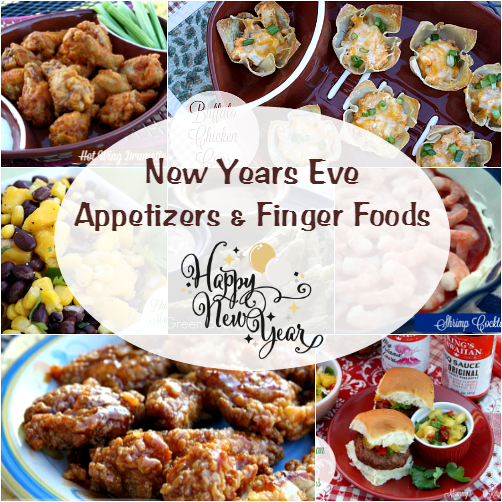 New Years Eve Party Dips & Appetizers!!! | Party appetizer ...
