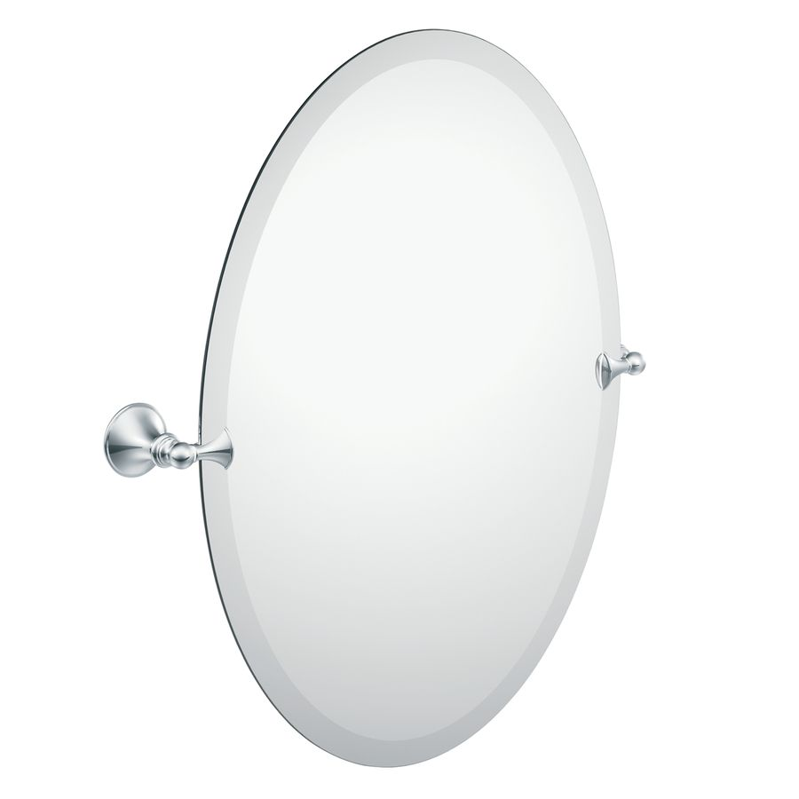 Shop Moen 26 In H X 20 3 8 In W Glenshire Oval Frameless Bath Mirror With Beveled Edges At Lowes Com Mirror Wall Bedroom Mirror Wall Antique Mirror Wall [ 900 x 900 Pixel ]