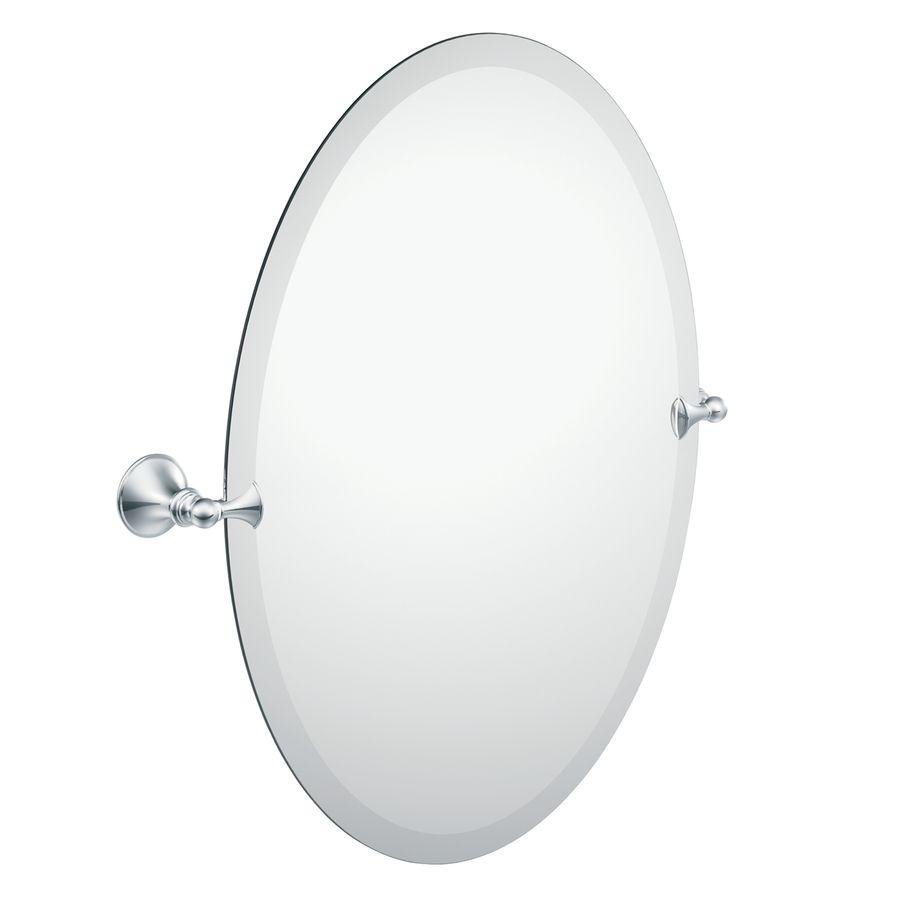 Moen Glenshire 2281 In W X 26 H Oval Tilting Frameless Bathroom Mi