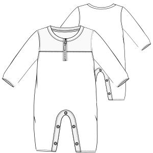 Bodysuit sewing patterns.