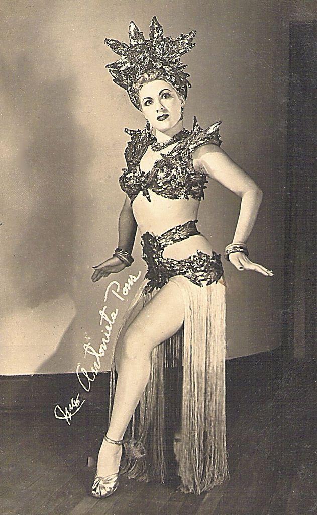 María Antonieta Pons, exuberante rumbera cubana