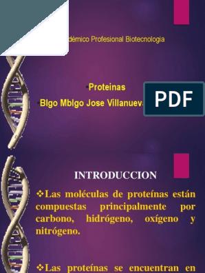 Las Proteínas, Mapa Mental Péptido Colágeno en 2020