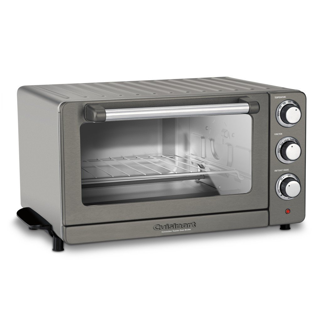 Cuisinart Tob 60n1bksfr Refurbished Toaster Oven Broiler With Convection Black Stainless Toaster Oven Black Stainless Steel
