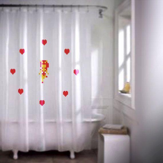 Zelda Fairy Shower Curtain Shutupandtakemyyen Legendofzelda Thelegendofzelda Nintendo Retro Retrogaming Merch Merchandise Showercur