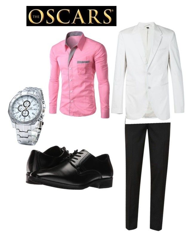 """""""Sexy and ready to win"""" by safiyat-aminu on Polyvore featuring Topman, Neil Barrett, Stacy Adams, men's fashion and menswear"""