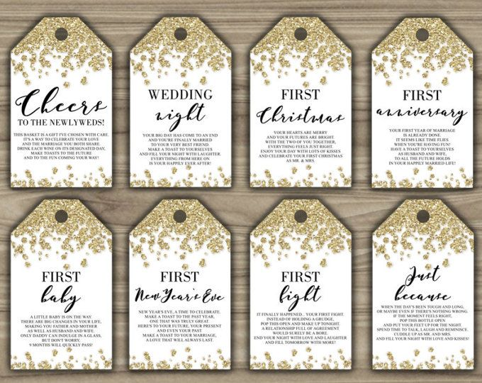 picture relating to Free Printable Wine Tags for Bridal Shower identify Bridal Shower Wine Crate Present Established with 8 tags and shower