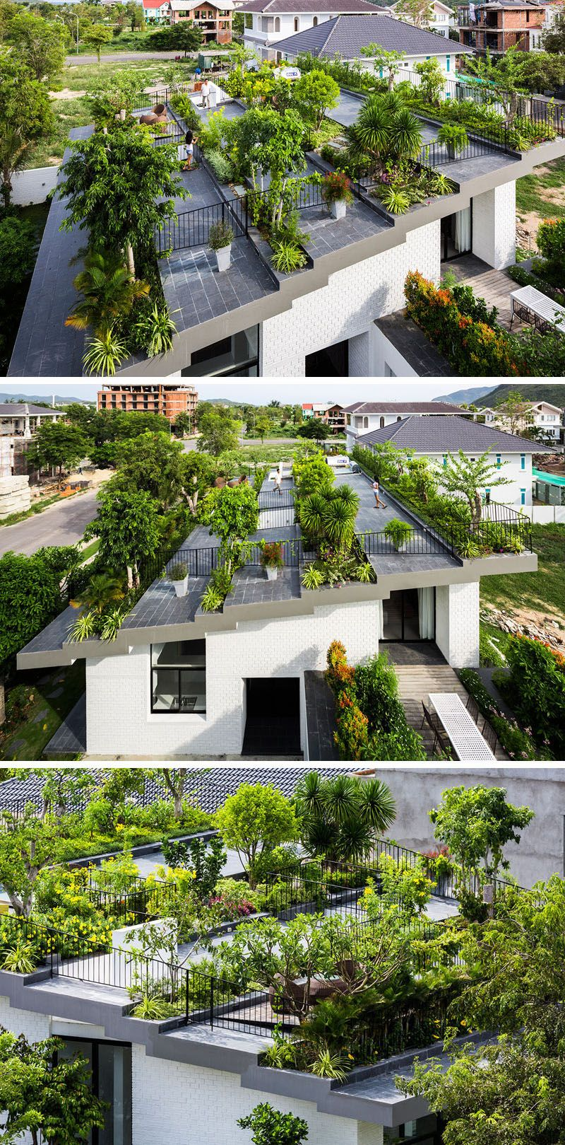 These 10 Rooftop Decks Are Always Ready For Outdoor Entertaining Garden Architecture Rooftop Garden Garden Design