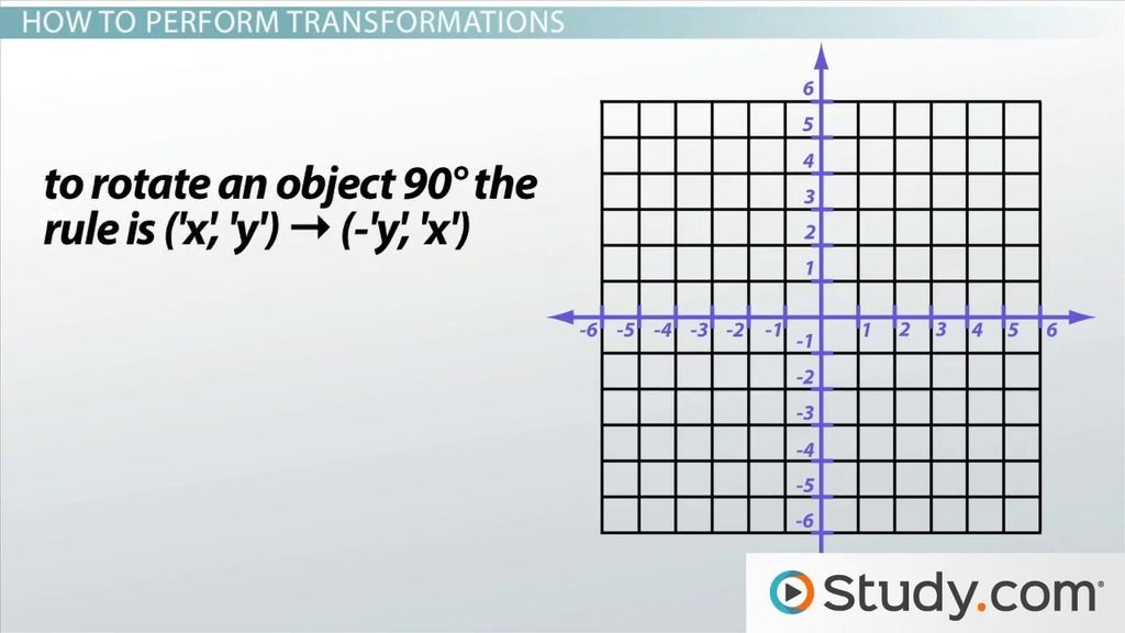 In geometry, transformation refers to the movement of objects in - graph paper with axis