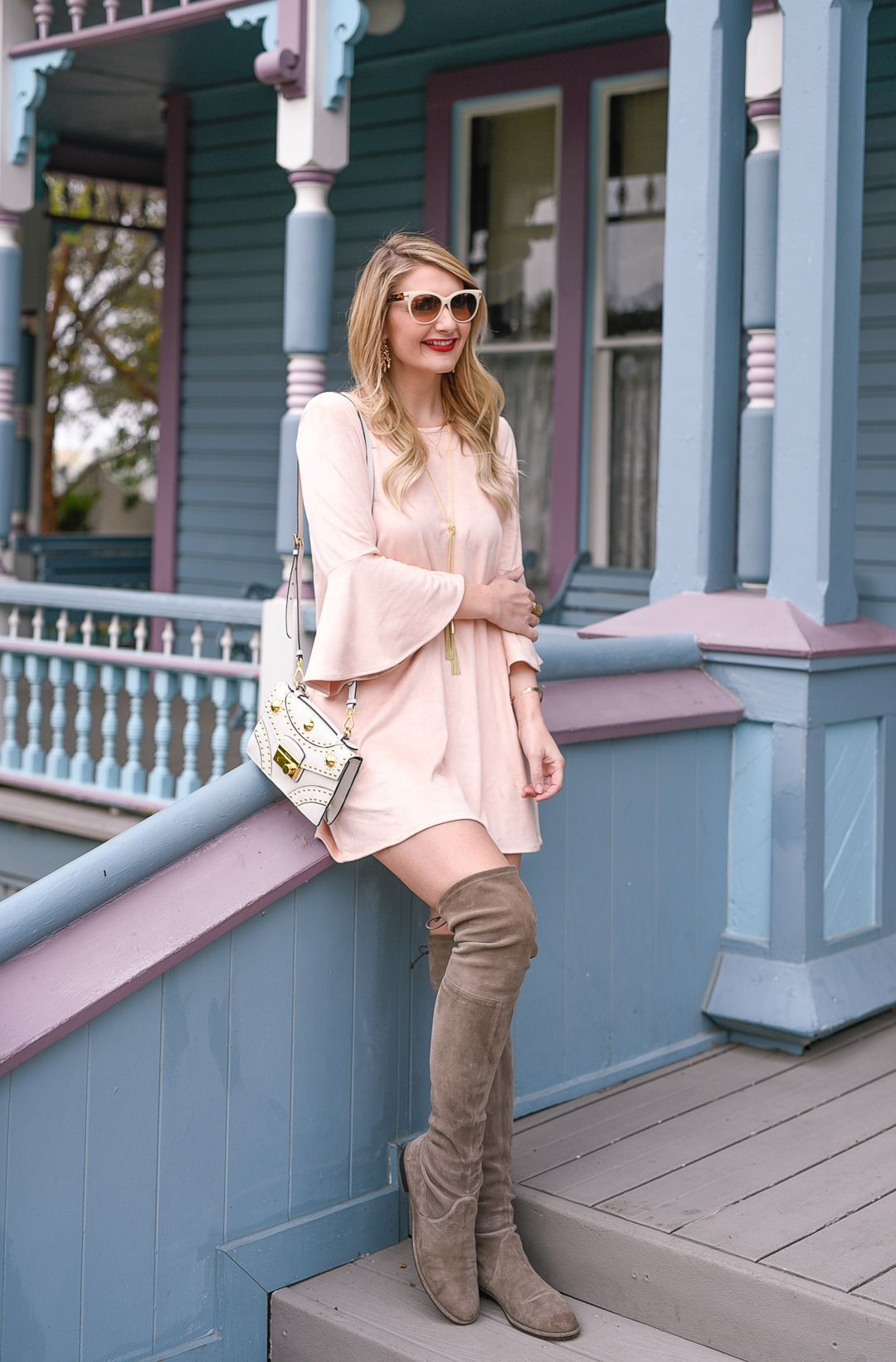 0dd00cd20bd Stuart Weitzman Lowland boots in taupe.