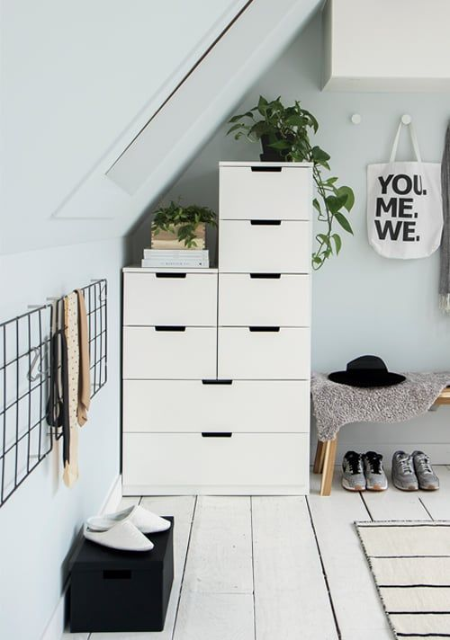 3 Schuin dak? Maak een slaapkamer | Dream rooms, Attic and Room decor