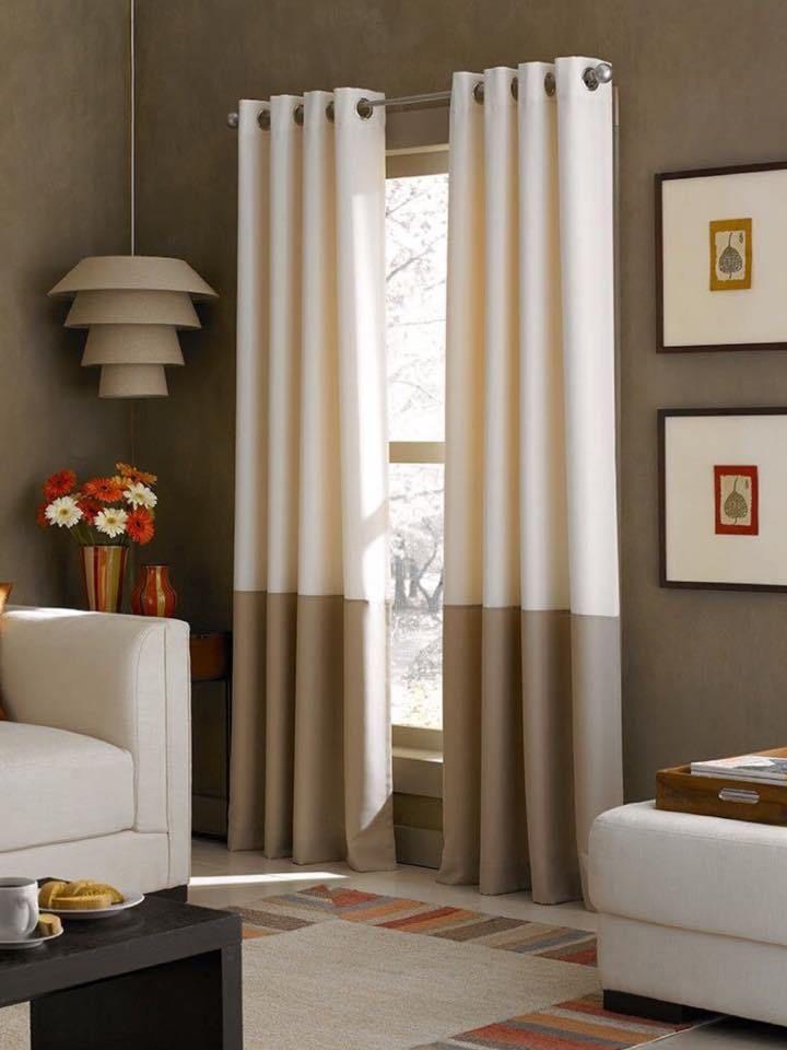Hay muchas ideas creativas y originales para crear cortinas de