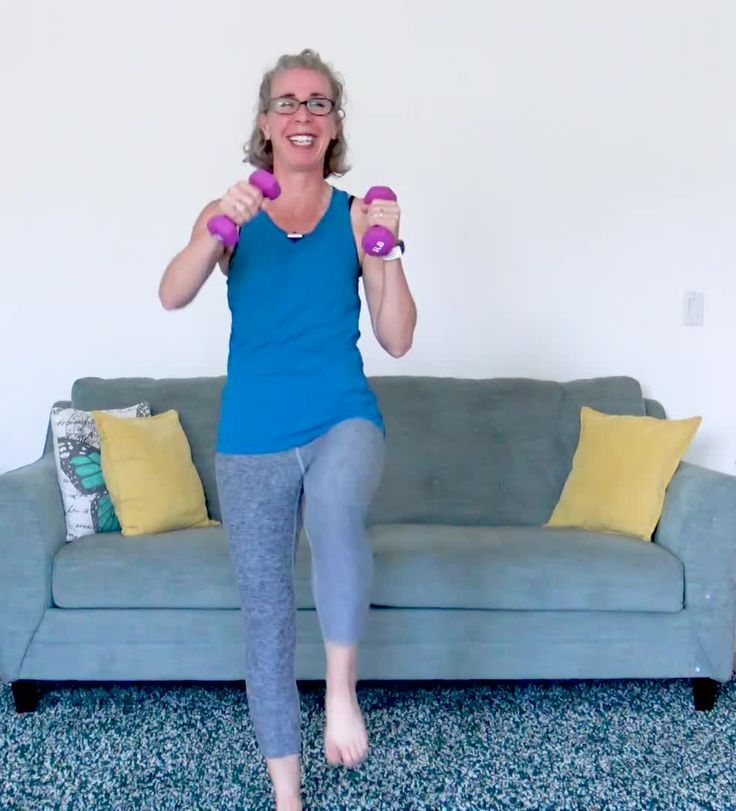 20 Minute WALK with WEIGHTS Workout for Women over 50
