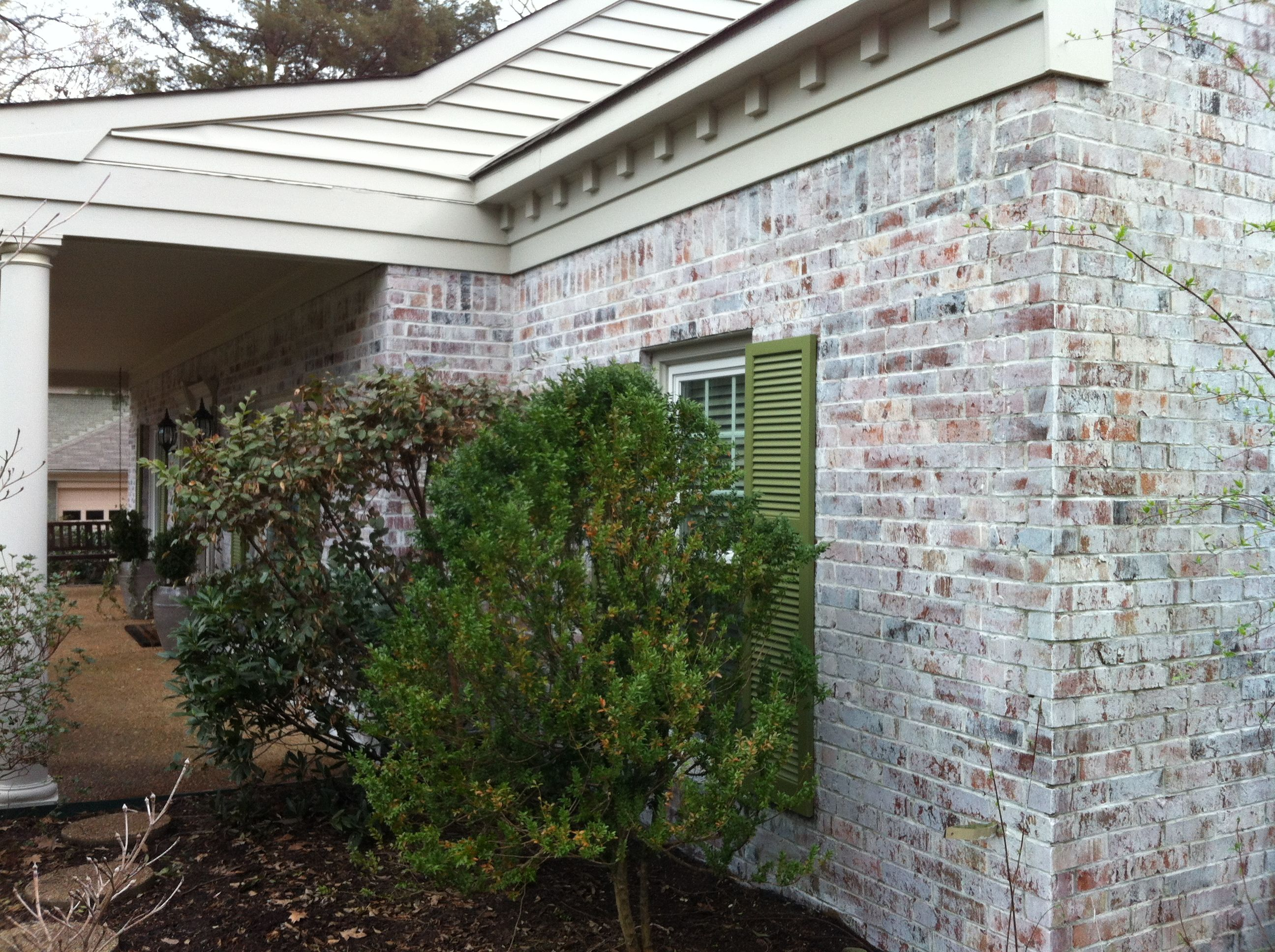 Beautiful Knock Off Brick Lime Wash Painted By Calhoun Painting Company House Painters In