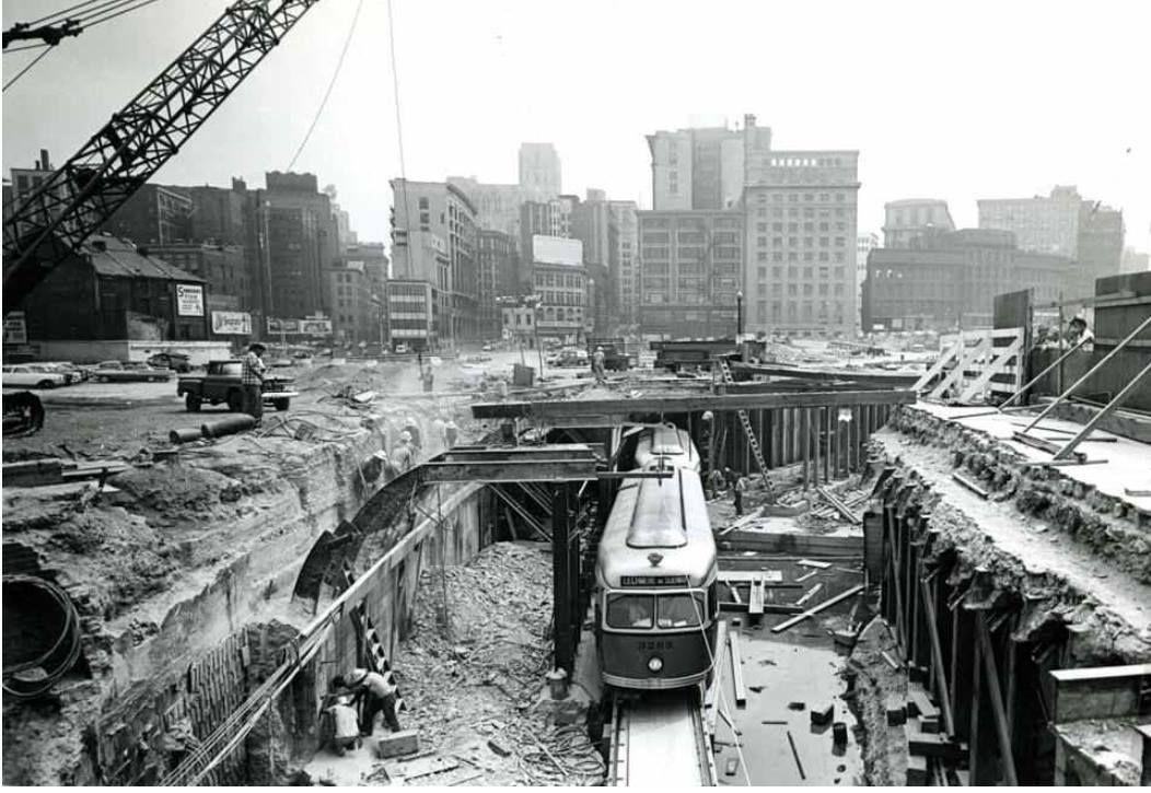 Haymarket Station Construction City transit, Subway