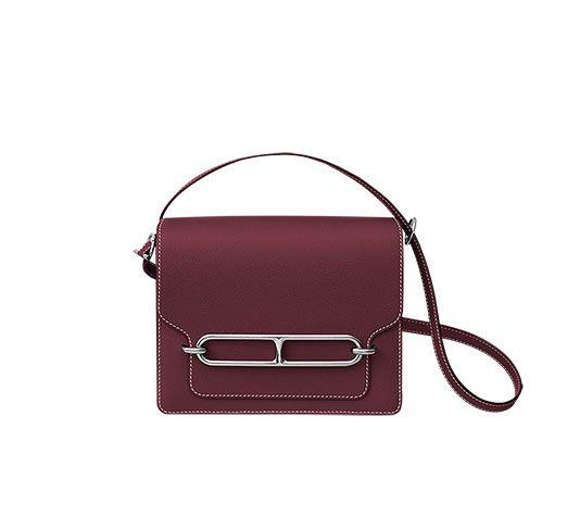 c7154ab00b2e Hermes shoulder bag in Evercolor calfskin (size GM) Measures 9